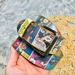 Batman Marvel Comic Strip Belt